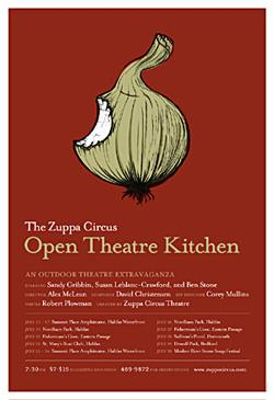 Open Kitchen Theatre Poster