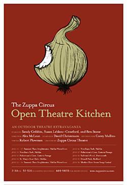 Open Kitchen Theatre Poster
